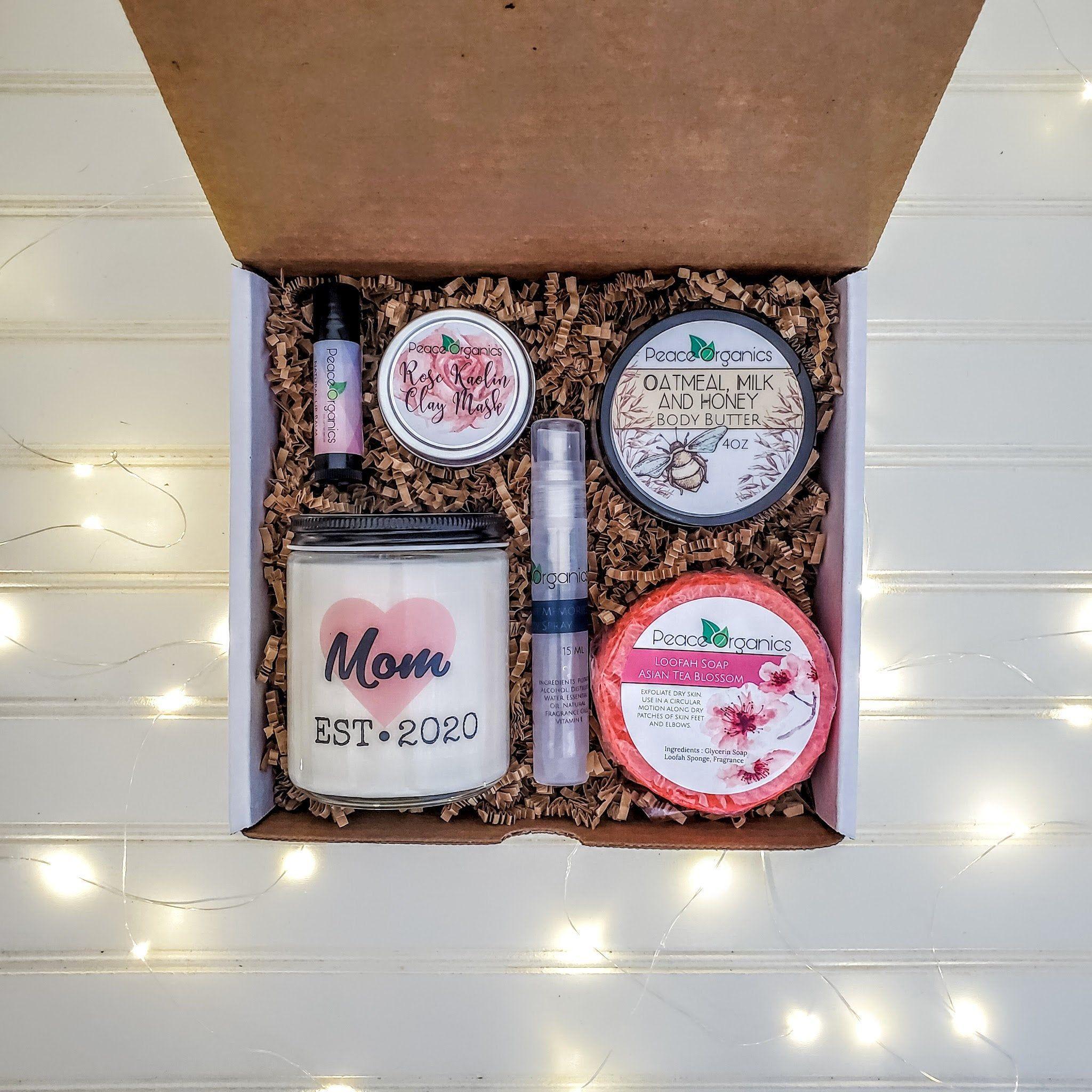 Mom est birthday gift box new mom gift new mother