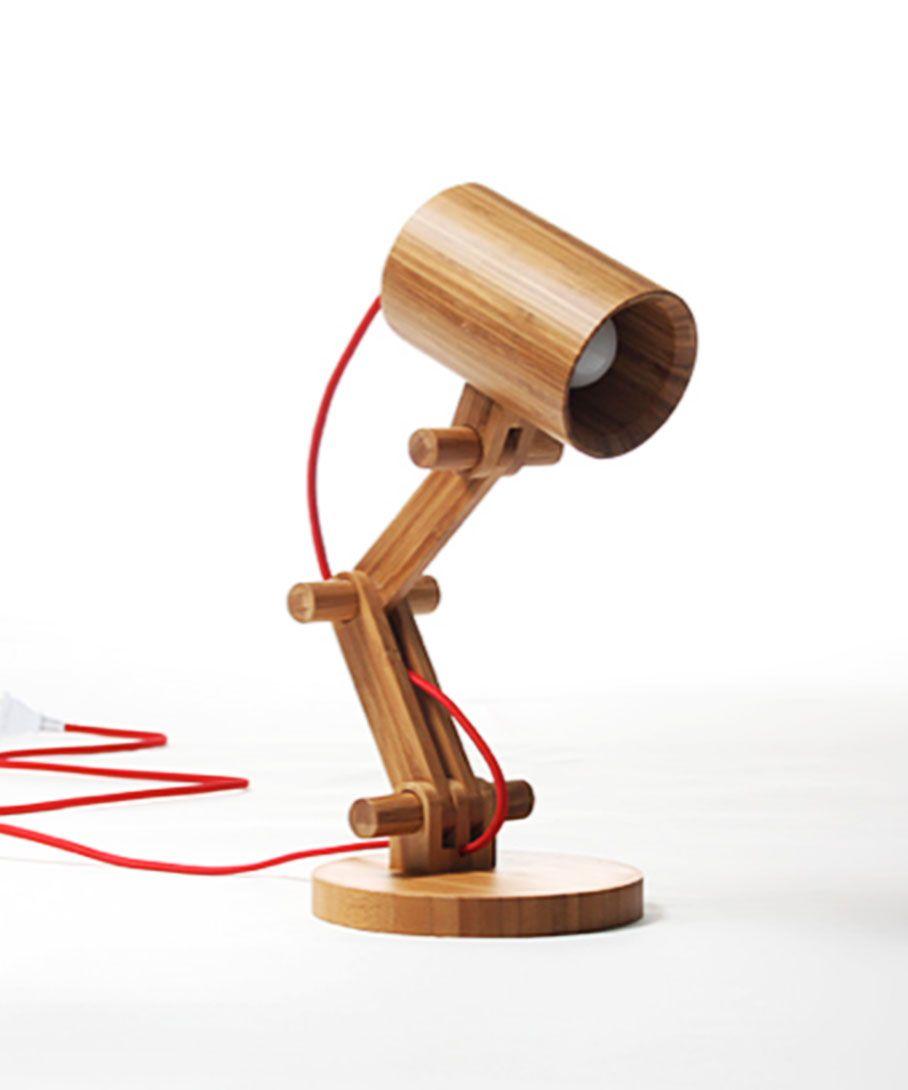 Artsy Bamboo Table Lamp