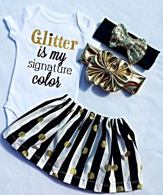 d2662e4826571 Baby Clothes, Cute Girl Clothing, Glitter Is My Signature Color, Gift,  Toddler Girl Shirt, Girls TShirt, Gold Sparkle, Girly Sayings, Liv