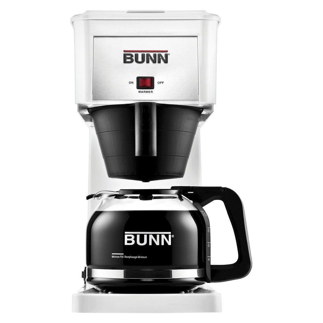 tripletap to zoom in Bunn coffee maker, Bunn coffee