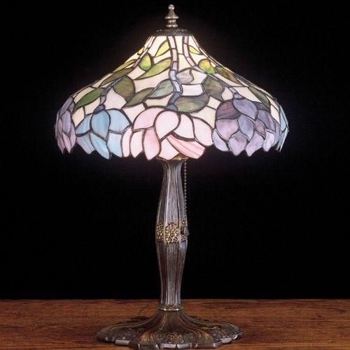 17 Inch H Wisteria Accent Table Lamp Disenos De Unas Lamparas