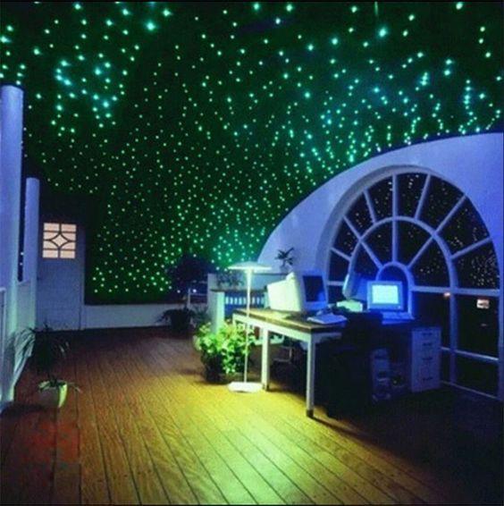 200x Glow In The Dark 3d Stars Stickers Home Children S Bedroom