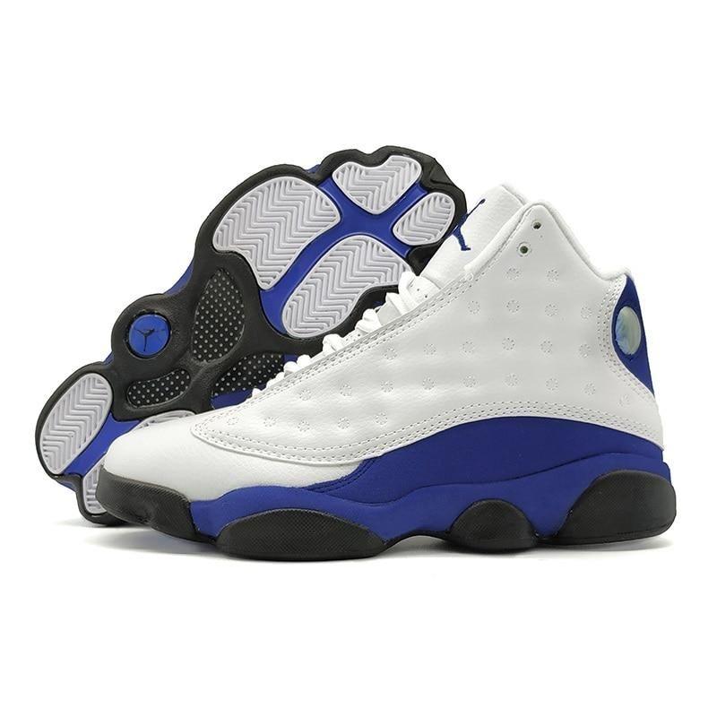 80f368a7c1e Jordan Retro 13 XIII Men Basketball Shoes HYPER ROYAL Altitude Grey Athletic  Outdoor Sport Sneaker Navy