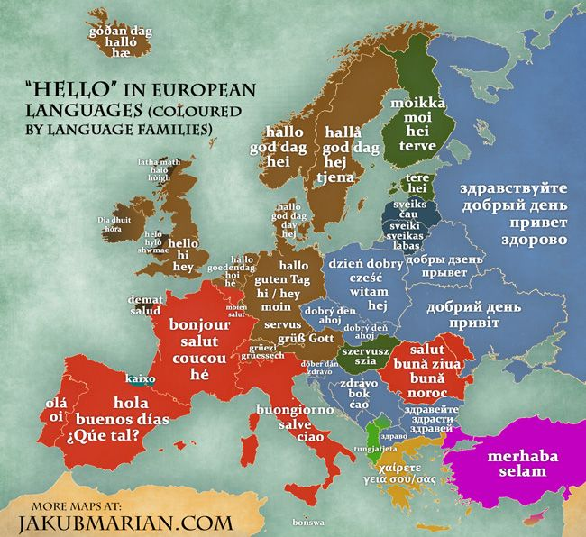 Hello In European Languages Maps Pinterest Language And Spanish - This map shows how long it takes to learn different languages