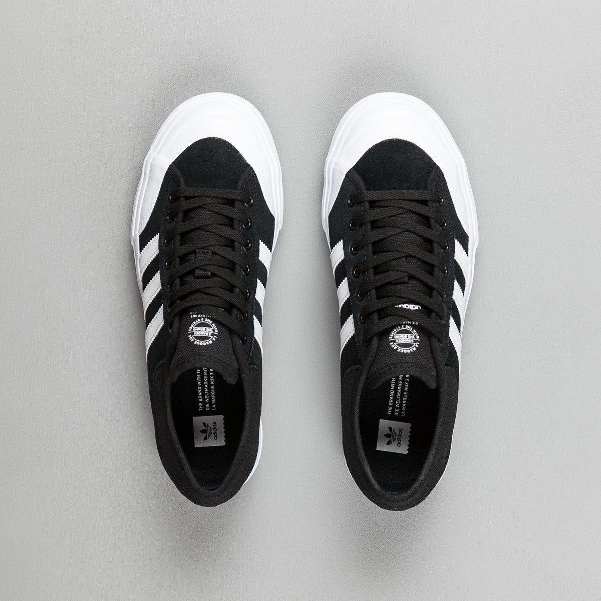 incondicional visto ropa paso  Adidas Matchcourt ADV Shoes - Core Black / White / White | Sneakers, Crazy  shoes, Adidas