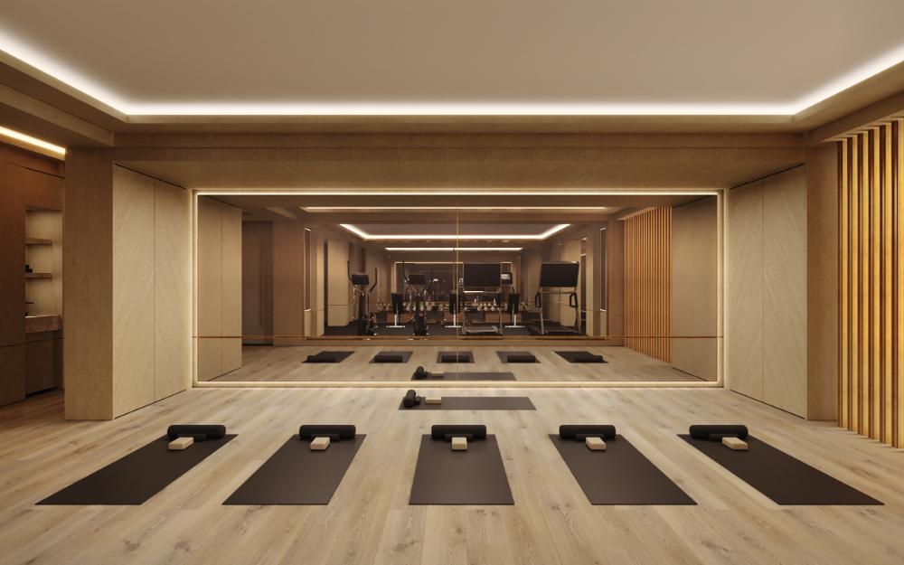Studio Munge Nº 7 Rosedale Studio Munge Gym Design Interior Yoga Studio Design Dance Studio Design