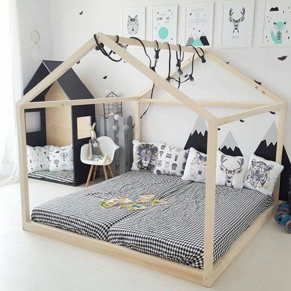 King Of Bloggers Live Bloggers House Beds For Kids Toddler Floor Bed Kid Beds