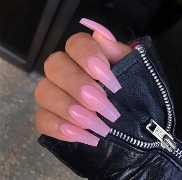 Fast Dry Long Lasting Thick Clear Nail Soak Off Uv Led Camouflage Cover Pink Extend Gel Wish Pink Acrylic Nails Dusty Pink Nails Bubblegum Pink Nails
