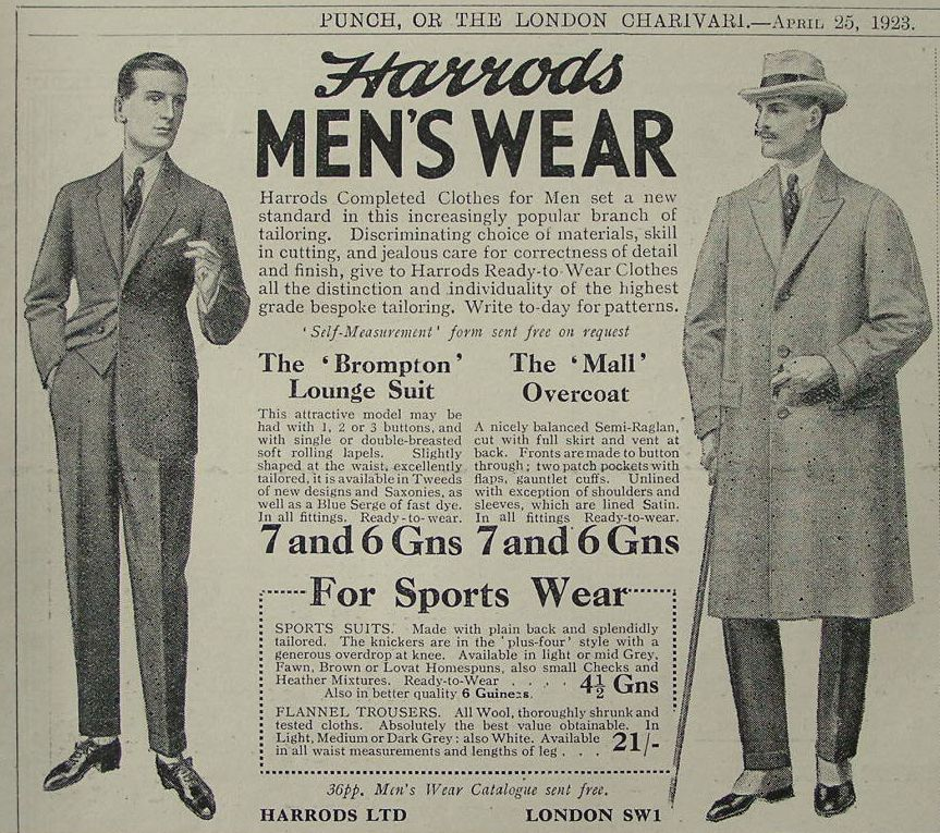 1920s men suits 1920s british ads and catalogue images are few and