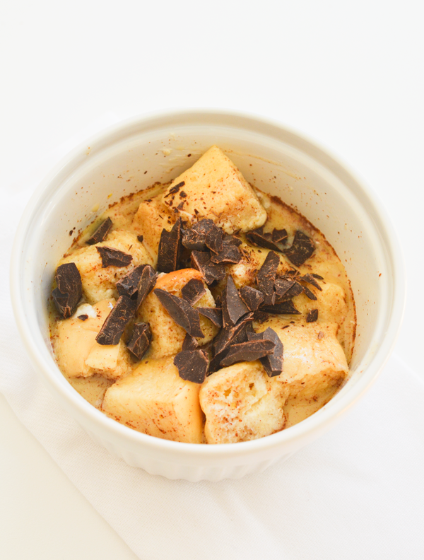 Easy Microwave Bread Pudding in a Mug | Recipe | Microwave ...