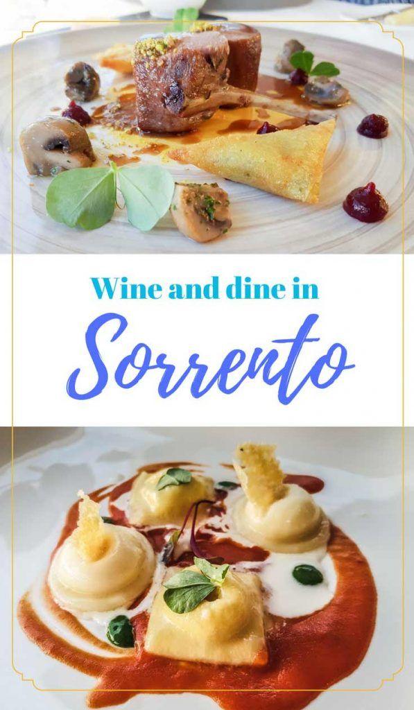Eat at the second best restaurant in sorrento terrazza for Terrazza vittoria sorrento