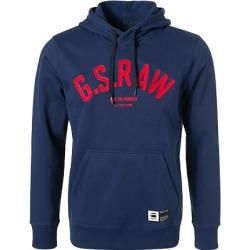 Photo of G-star hooded sweater men, cotton, blue G-Star