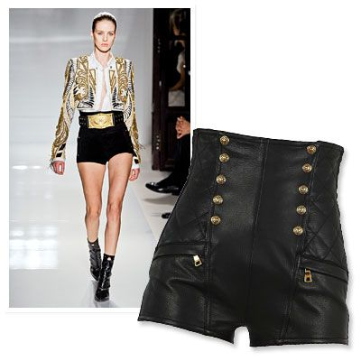heetheadz.com high-waist-leather-shorts-14 #highwaistedshorts ...