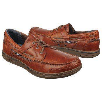 Sebago Triton Three Eye Shoes (Brownoiled/Darkbrown) - Men's Shoes - 12.0 M