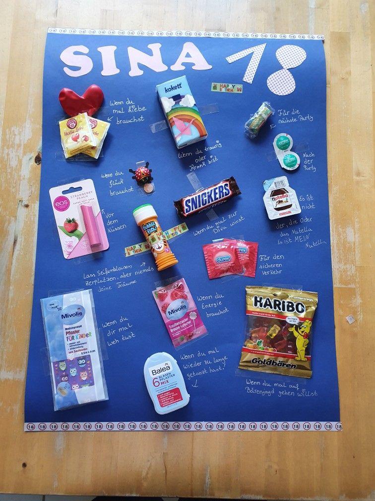 18 Geburtstag Girls Happybirtday Wennbuch Geburtstag Geschenke Selber Machen Diy Geschenke Geburtstag Freundin Freund Geschenke Geburtstag