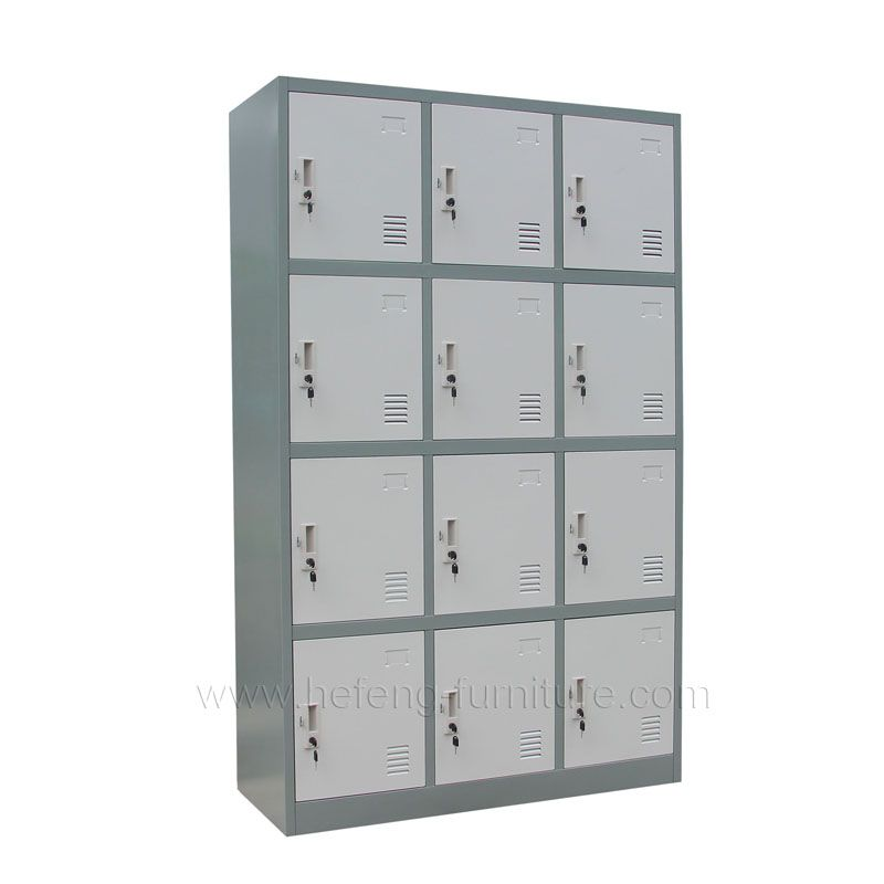 12 Door Personal Storage Lockers Luoyang Hefeng Furniture Locker Storage Storage Lockers