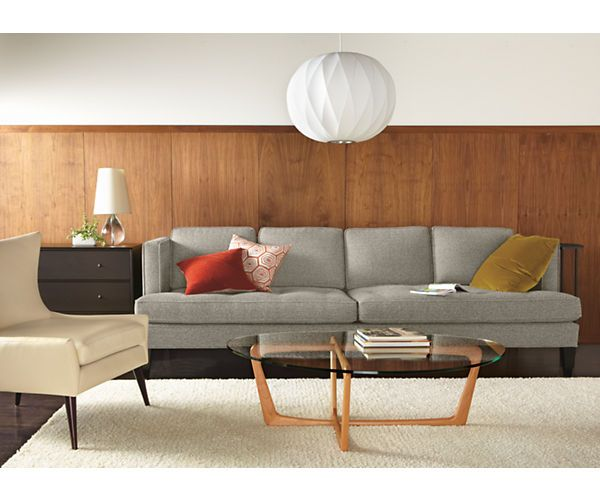 "Room & Board - Hutton 75"" Bench-Cushion Sofa"