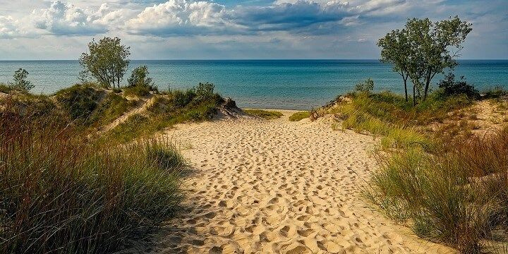 Indiana Dunes State Park, Indiana, USA