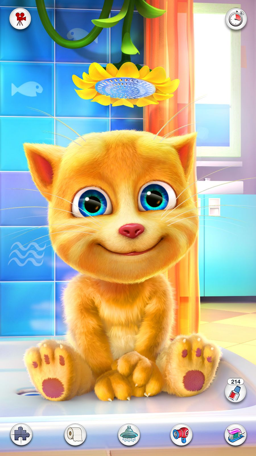Talking Ginger iosEntertainmentappapps Iphone games
