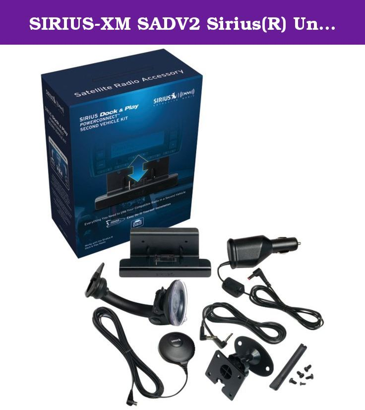 SIRIUS-XM SADV2 Sirius(R) Universal Dock & Play Vehicle