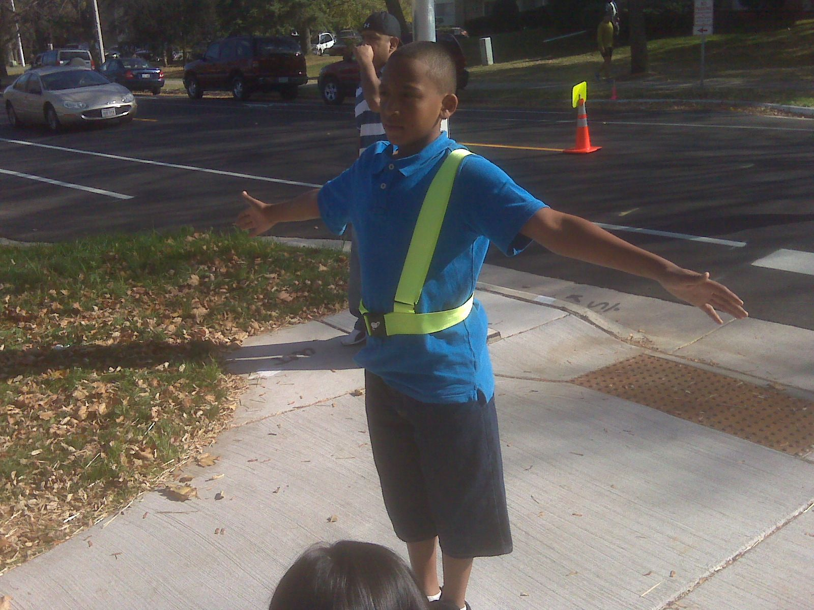 Yes, I was a school safety patrol! ) School safety