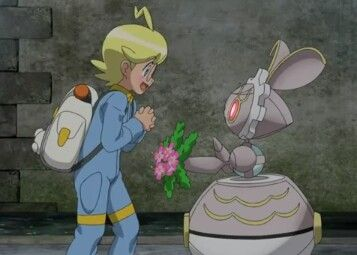 Clemont and Magearna