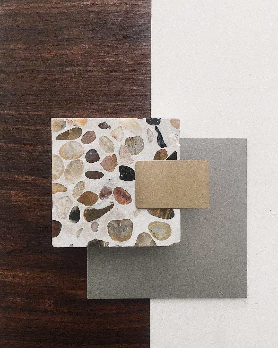 Material Moodboard Terrazzo Materials Board Interior Design