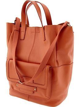 Kristina Leather Tote Banana Republic Work Bags