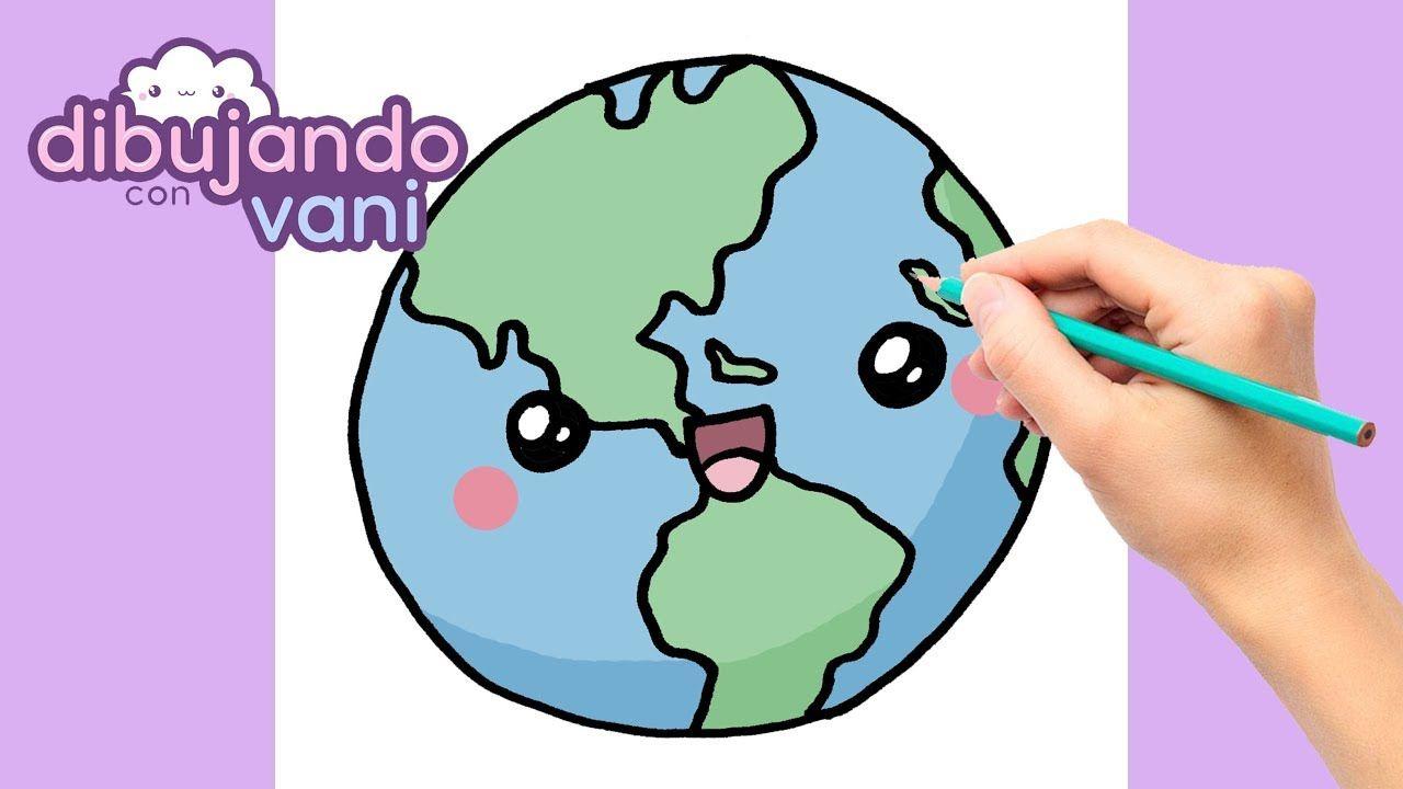 Como Dibujar Planeta Tierra Kawaii Dibujos Imagenes Anime Faciles Para Planeta Dibujo La Tierra Dibujo Planeta Tierra Para Colorear