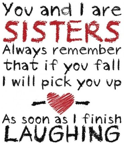 111+ Sister Quotes With Images For Your Cute Sister - Fresh Quotes - fresh birthday invitation jokes
