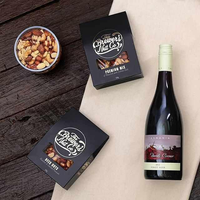 The Brewer's Nut Co is the perfect pairing with Red Wine. All our hampers include FREE Australia-wide Delivery.
