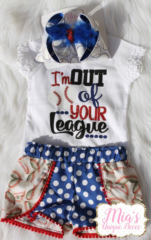 Photo of Baseball Shirt Baseball Shorts Baseball Outfit Toddler | Etsy