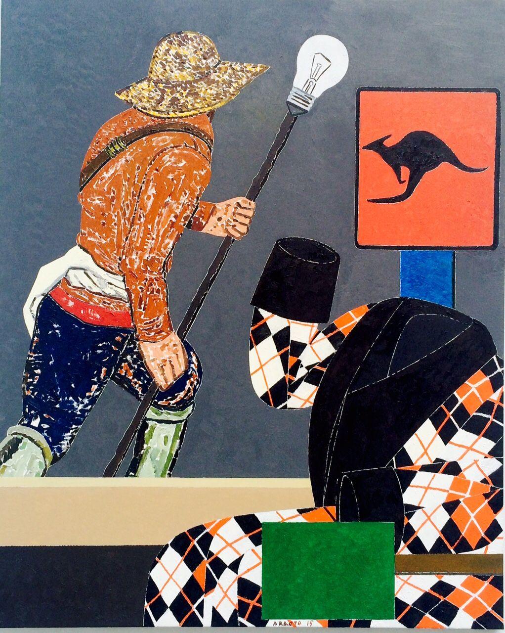 Eduardo Arroyo  Art Paris Art Fair 2017 - Paris Grand Palais 75008
