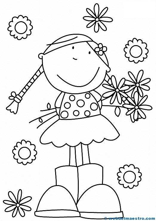 Dibujos para colorear | Education-Craftwork | Pinterest | Doodles ...