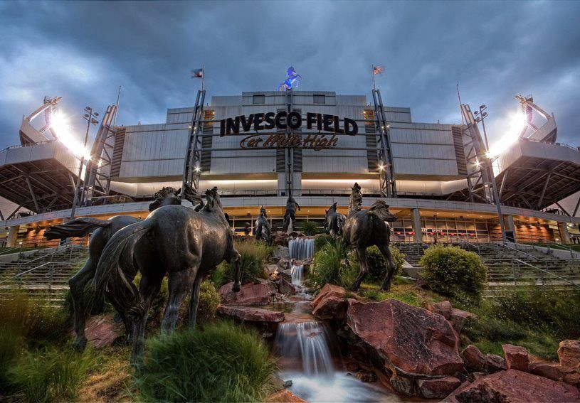 invesco field mile high (With images) Denver broncos