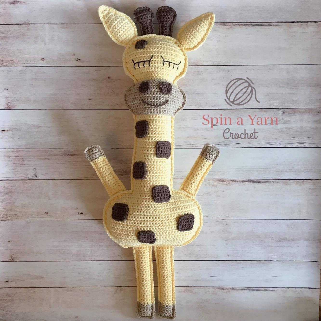 Ragdoll Giraffe Free Crochet Pattern | Giraffe crochet, Giraffe and ...