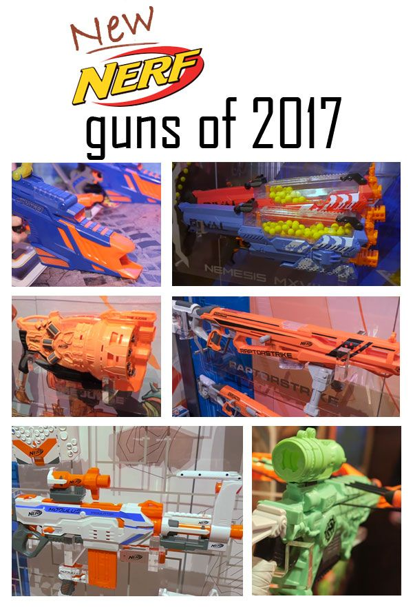 Check out all the New Nerf Guns For 2017. Dominate your next Nerf War!