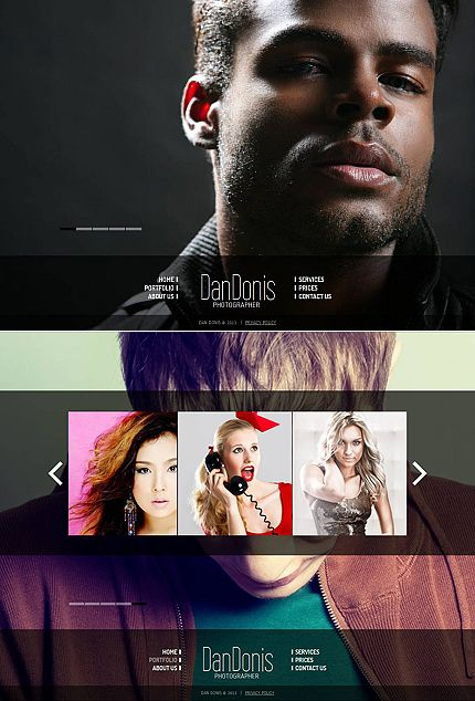 Photo Gallery 3.0 #template // Regular price: $139 // Unique price: $8500 // Sources available: #Art #Photography #PhotoGallery #portfolio #cms