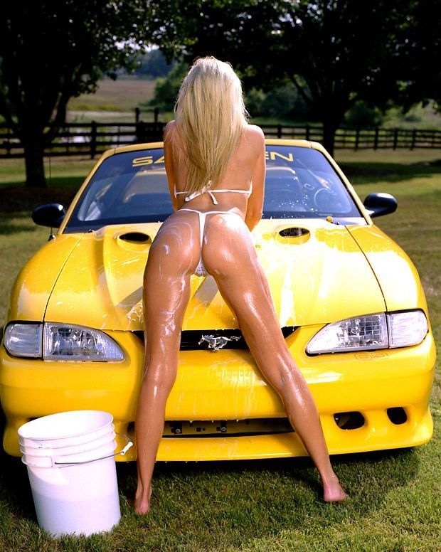 Washing the Stang