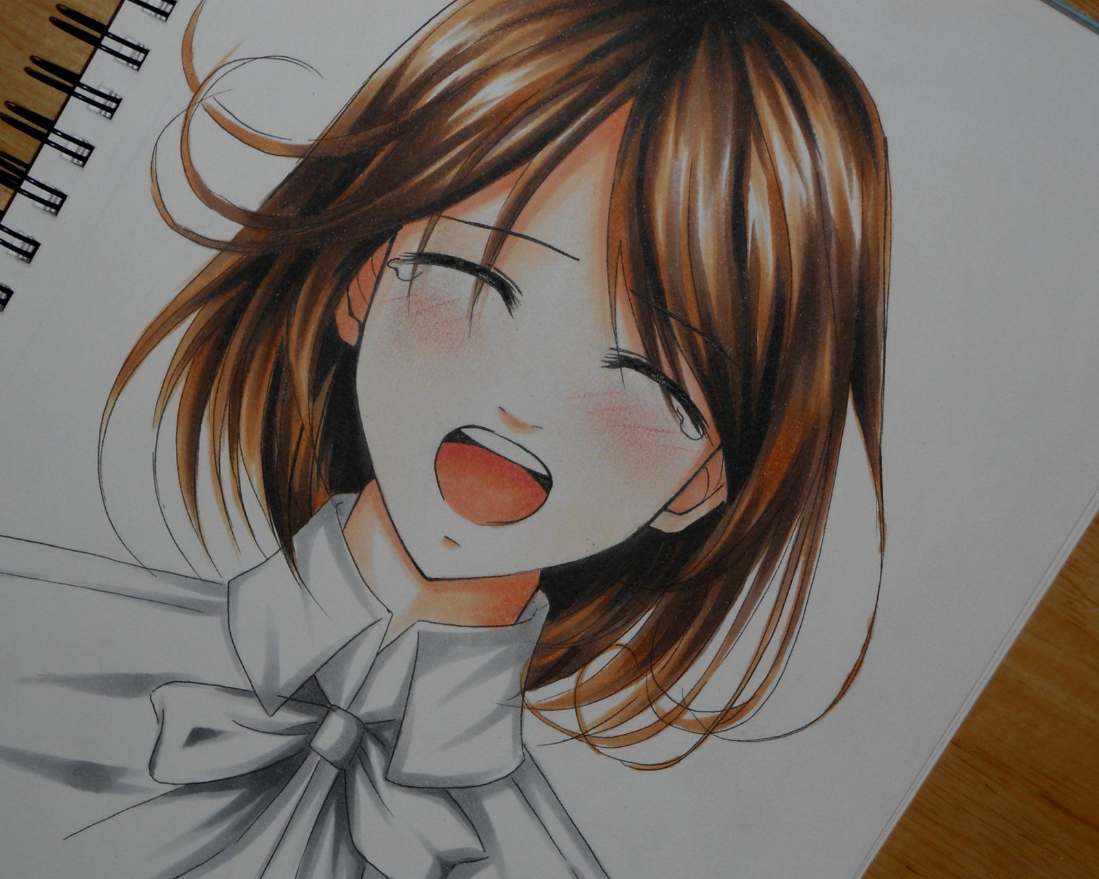 happy crying anime face | dromfhd.top | Drawing ...
