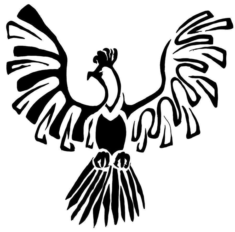 Ho Oh Tribal By Silver Drake On Deviantart Pokemon Tattoo Tribal Pokemon Tribal