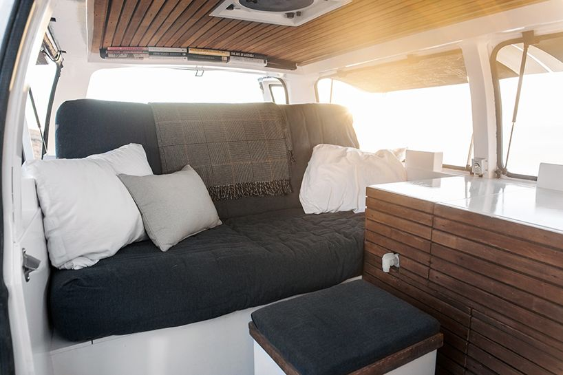 Chevy Cargo Van Gets Retrofitted Into A Minimal Home On Wheels