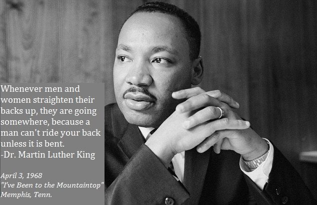 I Ve Been To The Mountaintop Martin Luther King Martin Luther King Jr Luther