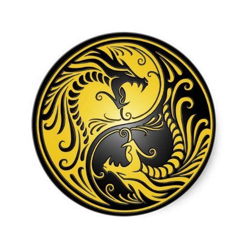 dragon sticker Dragon wall stickers,DRAGONS HEAD Martial Arts decal symbol