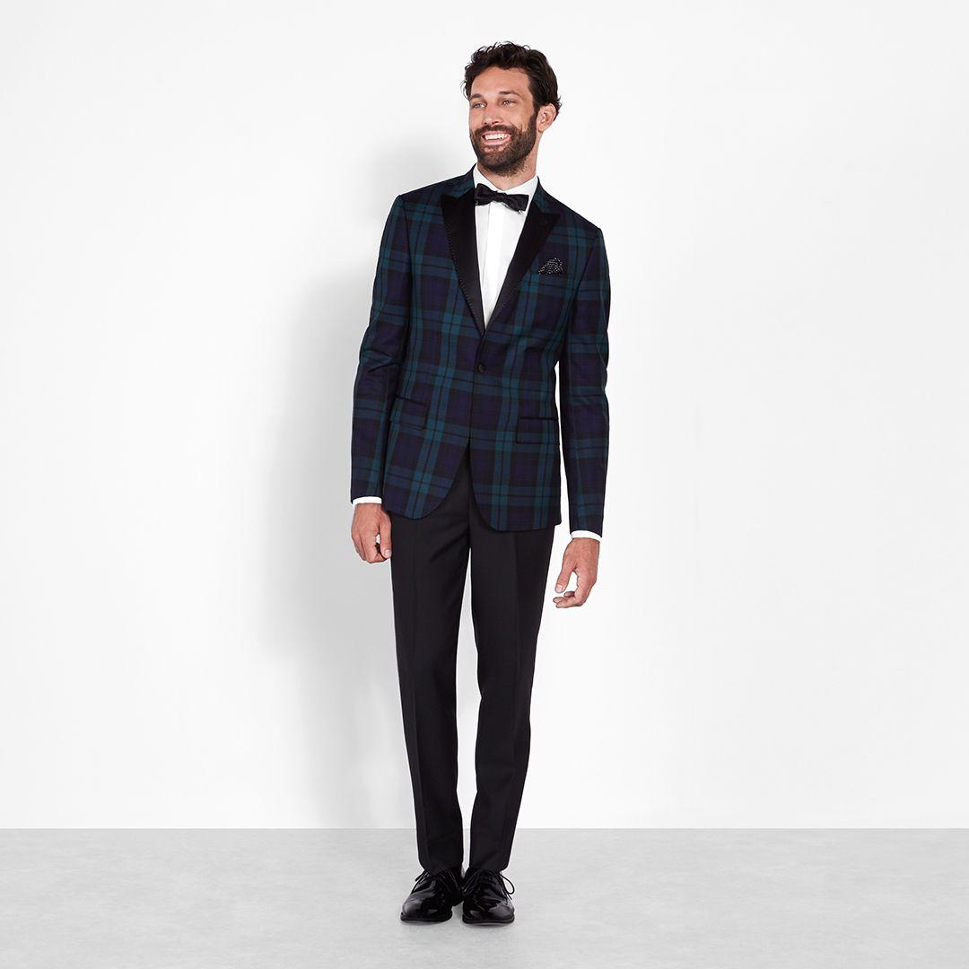 Black \u0026 Tartan Tuxedo in 2019