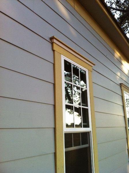 At Home A Blog By Joanna Gaines Magnolia Farmhouse Window Trim Window Trim Exterior Windows Exterior