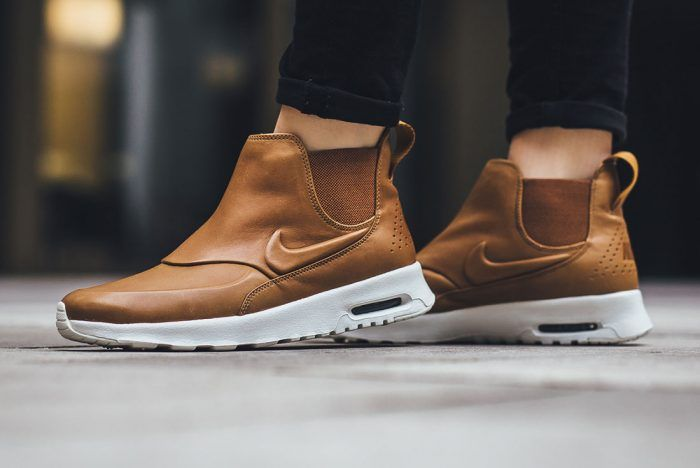 nike air max thea womens taupe ankle boots