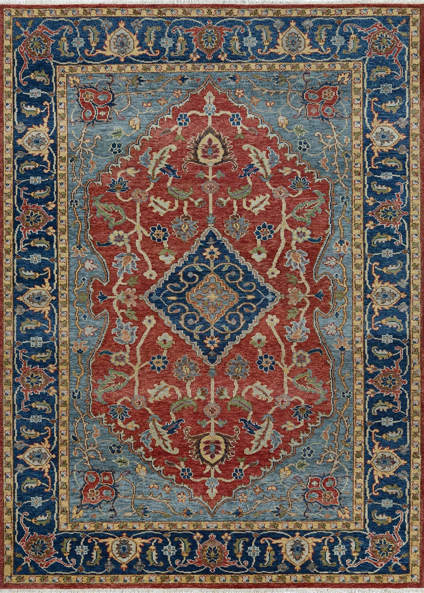 Traditional Area Rug Designs Take New Meaning In Couristans Latest Creation For The Floor With Tenali Collection Exquisitely Hand Knotted India