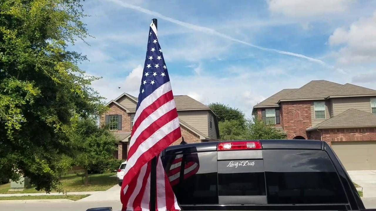 How To Mount A Flag To Truck Bed Flag Pole Holder Truck Bed Trucks