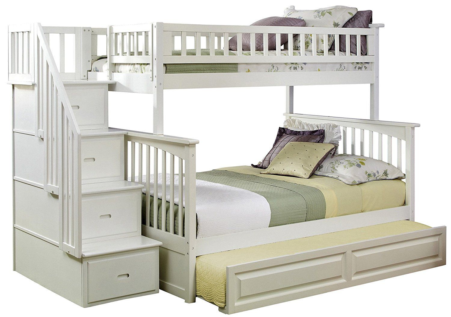 Pottery barn loft bed with desk   Twin Over Twin Bunk Beds with Trundle  Interior Designs for